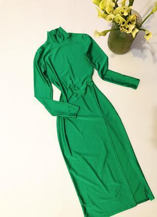 Зеленое платье, зелена сукня, зелене плаття міді