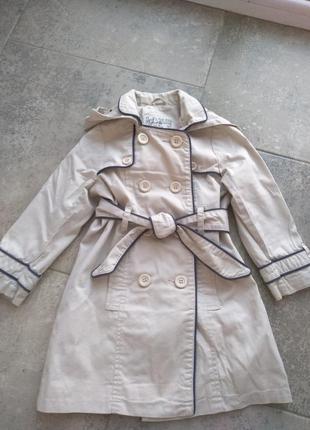 Пальто бежеве