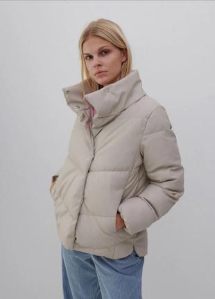 Дута куртка искусственная кожа