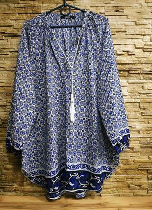 Свободная красивая блузка, туника