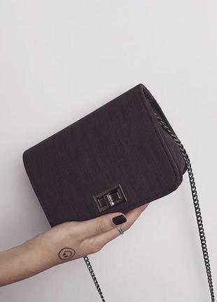 Женская маленькая сумочка через плечо
