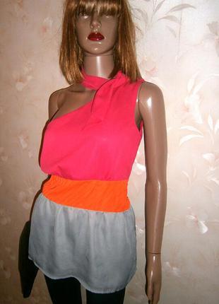 Нежная шифоновая блуза в три цвета в греческом стиле от asos
