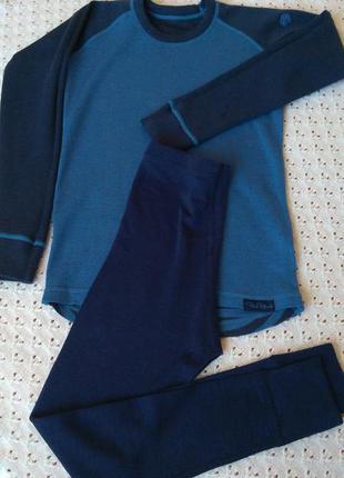 Термобілизна з мериносової вовни термо реглан штани леггинсы шерстяное термобелье шерсть мериноса