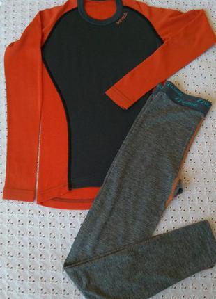 Термобілизна з мериносової вовни термо реглан штани термобелье шерсть мериноса леггинсы