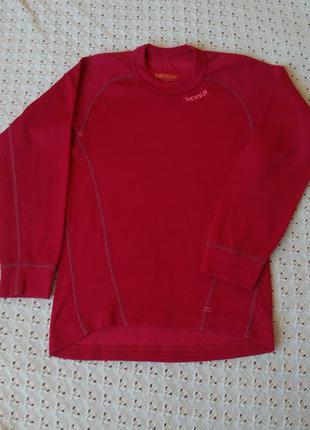 Термореглан devold з мериносової вовни термо футболка кофта термобілизна термобелье шерсть мериноса