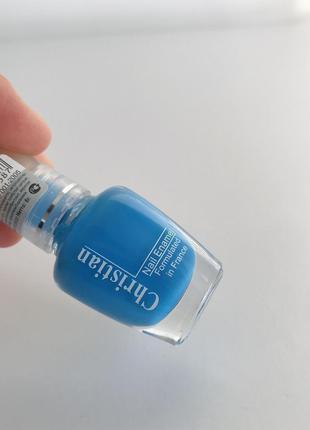 Лак, лак для ногтей, голубой лак для ногтей.