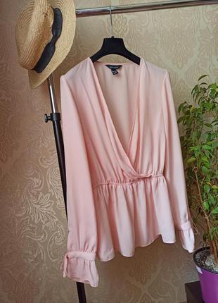 Шикарная блуза на запах/блузка/кофточка/рубашка