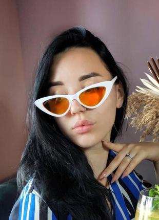 Яркие очки лисички