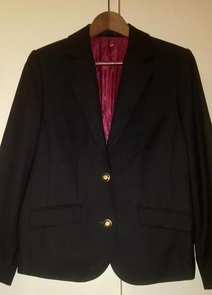 Классический черный пиджак новый