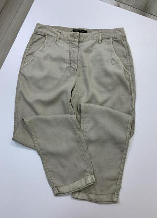 Новые бежевые штаны чиносы marc o polo хлопок