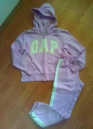 Шикарнейший спортивный костюм фирмы gap на девочку подростка!10-12лет