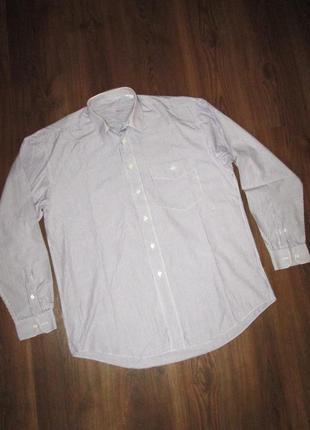 Рубашка мужская marc gibaldi, шг 61 см. на высокого