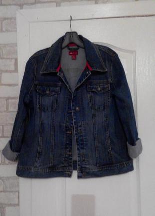 Джинсовая курточка,пиджак,жакет