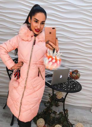 Стильное и модное пальто из плащевки наполнение холлофайбер