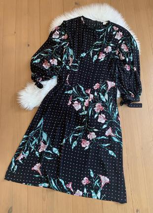 Плаття міді h&m4 фото