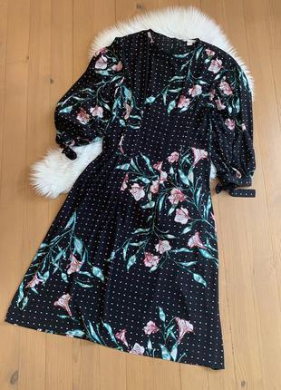 Плаття міді h&m8 фото