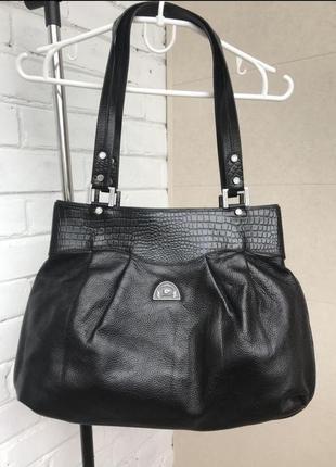 Кожаная сумка moochies