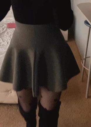 Осенняя юбка тюльпан! на осень