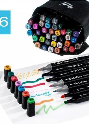 Набор маркеров touch raven для рисования фломастеры