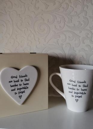 Подарочный набор чашка+шкатулка