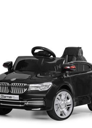 Детский электромобиль bambi racer m 3271eblr-2 bmw черный, 2 мотора, колеса eva, (1100230)