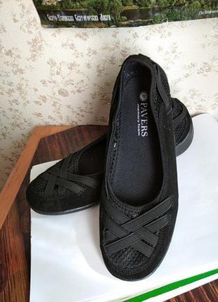 Туфли, мокасины, балетки, тапочки  pavers,  memory foam  34 р