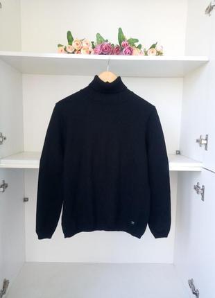 Шерстяной свитер с высоким горлом marz