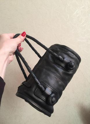 Черная мини сумка