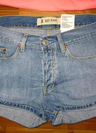 Джинсовые шорты gap размер 10