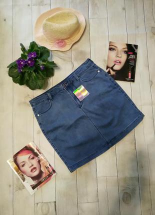 Корткая джинсовая юбка missguided xxl