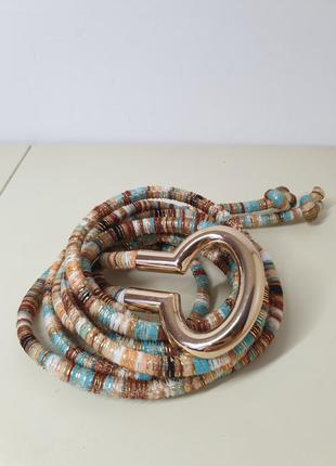 Пояс шнуровка в греческом стиле