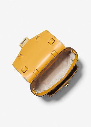 Крутая кожаная сумочка-чемодан от брендовых michael kors! классные расцветки! лучшие расцветки!