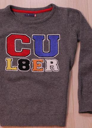 Стильный свитер cropp town5 фото