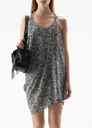 Легкое платье, сукня acne magenta dress акне студиос