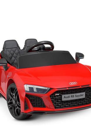 Детский электромобиль bambi racer m 4527eblr-3 audi красный, 2 мотора, колеса eva, mp3 (1100245)