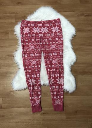 Пижама штаны домашние штанишки для дома 16 размер штани