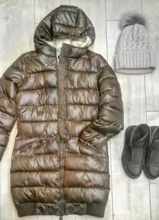 Пальто зимнее, очень теплое