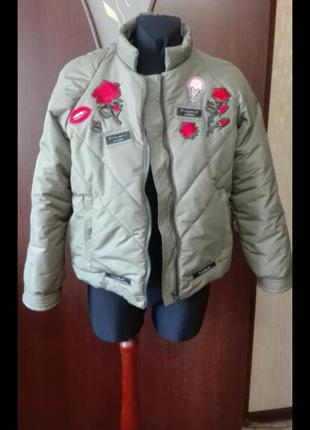 Зимняя очень модная куртка