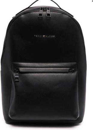Кожаный рюкзак tommy hilfiger