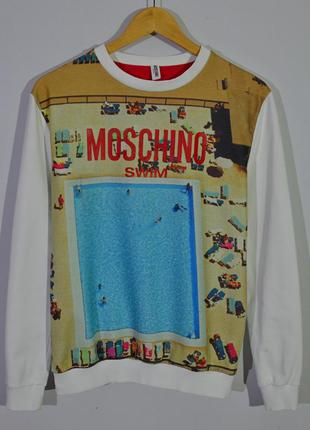 Свитшот moschino swim sweatshirt