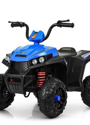 Детский квадроцикл bambi m 4131e-4 синий (1100259)