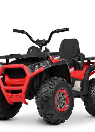 Квадроцикл детский bambi m 4081eblr-2-3 черно-красный (1100260)