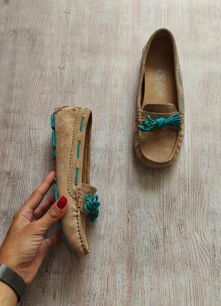 Ugg, кожаные, замшевые туфли, мокасины, топсайдеры