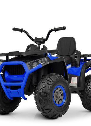 Квадроцикл детский bambi m 4081eblr-2-4 черно-синий (1100261)