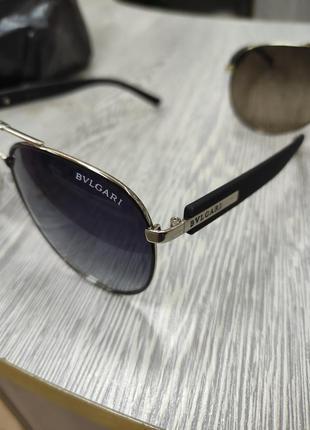 Солнцезащитные очки  bvlgari линзы полароид