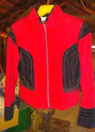 Курточка стильна із шерсті