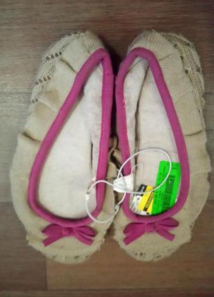 Тапочки чешки сша joe boxer размер 38(24.5 см стелька)