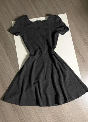 Платье трикотажное сарафан