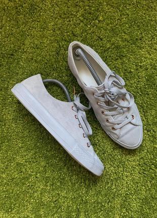 Замшевые кроссовки кеды converse all star, размер 40, 25.5 см