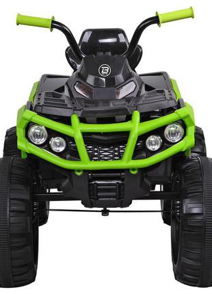 Детский электромобиль bambi racer квадроцикл m3156 eblr-2-5 зеленый, 2 мощных мотораusb,mp3(1100267)